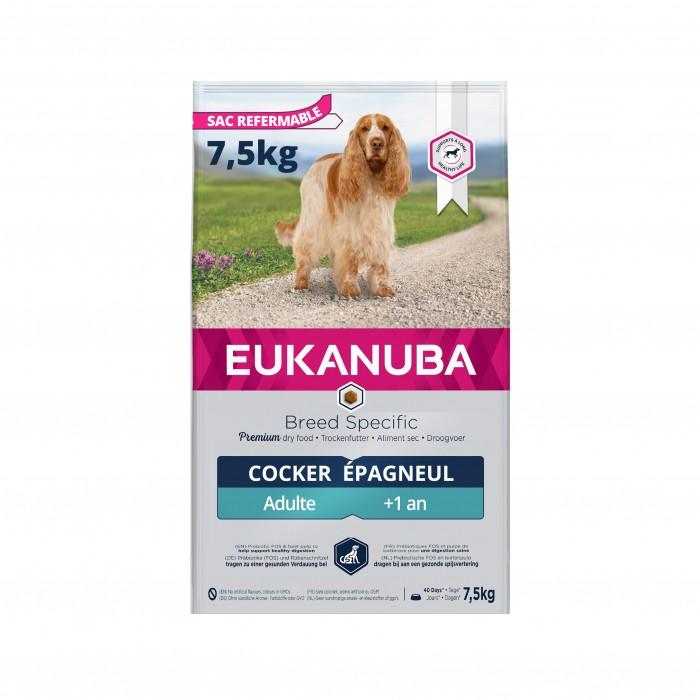 Alimentation pour chien - Eukanuba Breed Specific Cocker Spaniel pour chiens