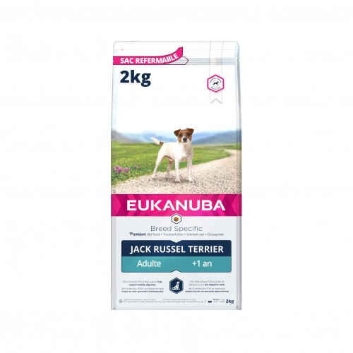 Alimentation pour chien - Eukanuba Breed Specific Jack Russel pour chiens