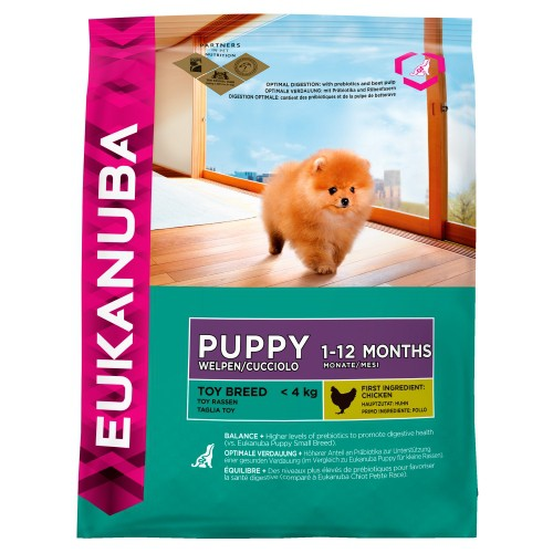 Alimentation pour chien - EUKANUBA Toy Breed pour chiens