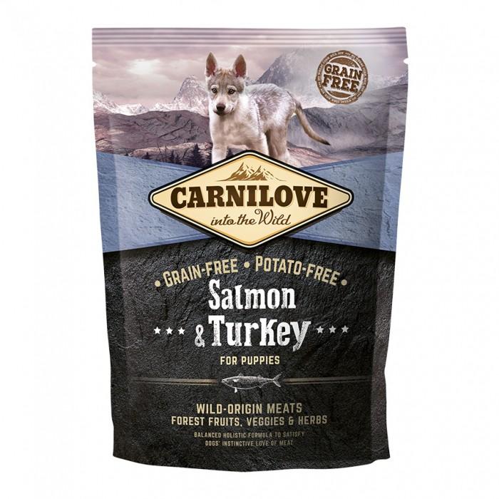 Carnilove Puppy Saumon & Dinde-Puppy Saumon & Dinde