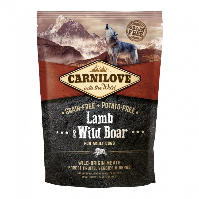 Alimentation pour chien - CARNILOVE Adult Agneau & sanglier sauvage pour chiens