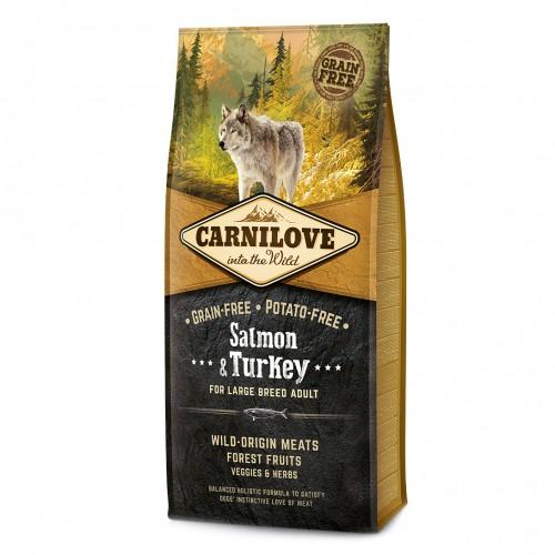 Alimentation pour chien - CARNILOVE Adult Large Saumon & dinde pour chiens