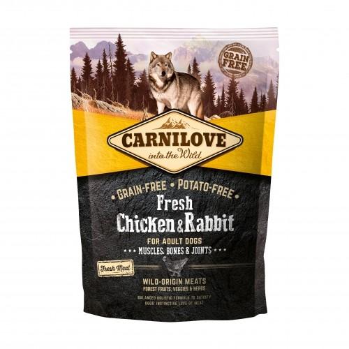 Alimentation pour chien - CARNILOVE Fresh Adult Poulet & Lapin pour chiens