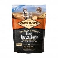 Croquettes pour chien - CARNILOVE Fresh Adult small Autruche & Agneau