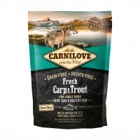 Croquettes pour chien - CARNILOVE Fresh Adult Carpe & Truite