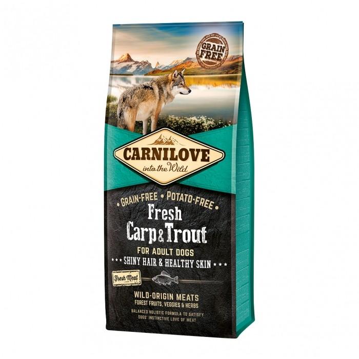 CARNILOVE Fresh Adult Carpe & Truite-Fresh Adult Carpe & Truite