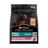 Croquettes pour chien - PURINA PROPLAN Small & Mini Puppy Sensitive Skin OptiDerma Saumon Small & Mini Puppy Sensitive Skin OptiDerma Saumon