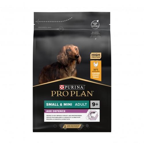 Alimentation pour chien - PURINA PROPLAN Small & Mini Adult 9+ OptiAge Poulet pour chiens