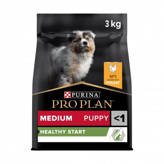 Alimentation pour chien - PURINA PROPLAN Medium Puppy OptiStart Poulet pour chiens