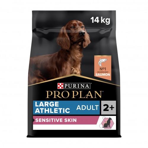 Alimentation pour chien - PURINA PROPLAN Large Adult Athletic Sensitive Skin OptiDerma Saumon pour chiens