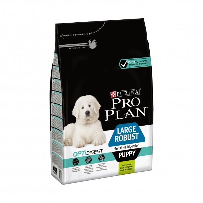 PURINA PROPLAN Large Robust Puppy Sensitive Digestion OptiDigest-Large Robust Puppy Sensitive Digestion OptiDigest