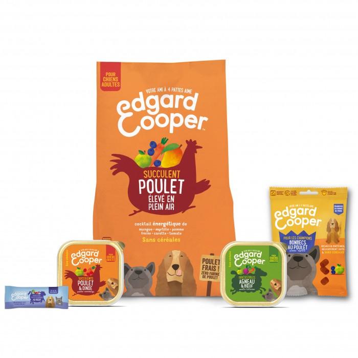 Alimentation pour chien - Edgard & Cooper, Pack découverte complet pour chiens