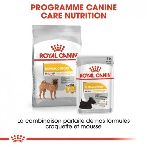 Alimentation pour chien - Royal Canin Medium Dermaconfort pour chiens