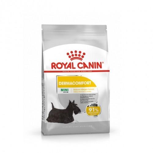 Alimentation pour chien - Royal Canin Mini Dermaconfort pour chiens