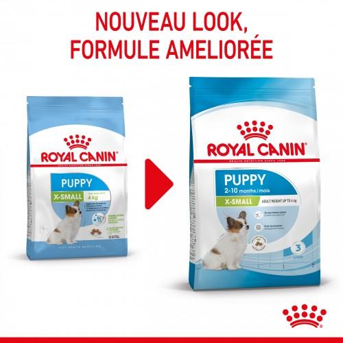 Alimentation pour chien - Royal Canin X-Small Puppy pour chiens