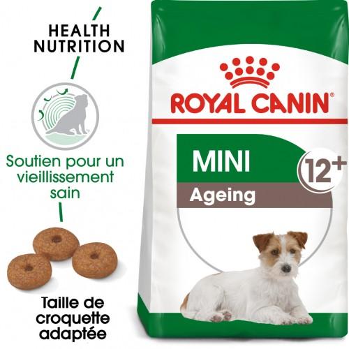 Alimentation pour chien - Royal Canin Mini Ageing 12+ pour chiens