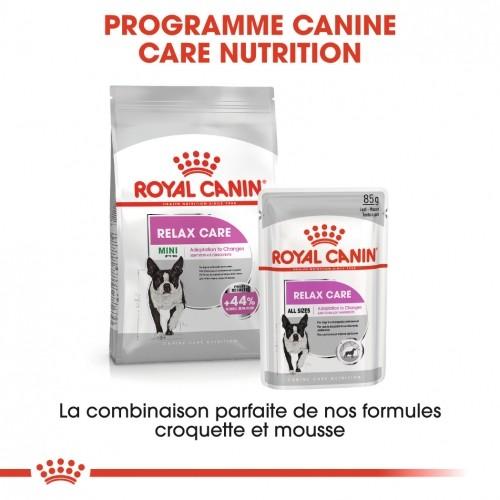 Alimentation pour chien - Royal Canin Mini Relax Care - Croquettes pour chien pour chiens