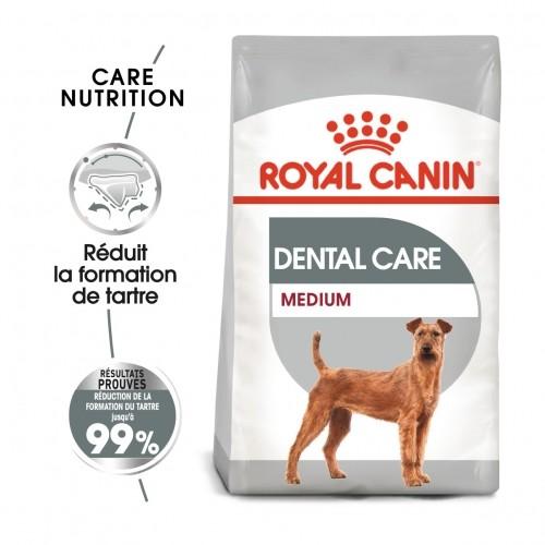 Alimentation pour chien - Royal Canin Medium Dental Care - Croquettes pour chien pour chiens