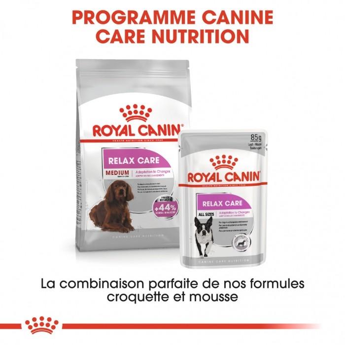 Alimentation pour chien - Royal Canin Medium Relax Care - Croquettes pour chien pour chiens