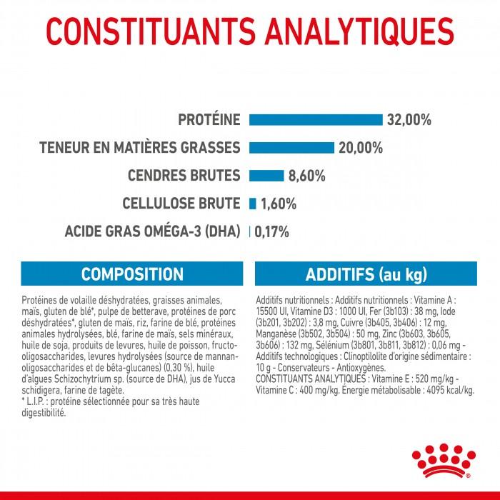 Alimentation pour chien - Royal Canin Medium Puppy - Croquettes pour chiot pour chiens