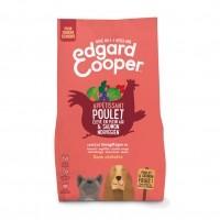Croquettes pour chien - Edgard & Cooper, Appétissant poulet et saumon pour chien sénior Senior - Poulet frais - Sans céréales