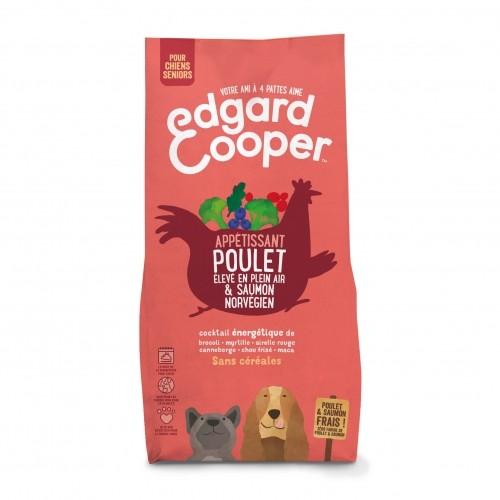 Alimentation pour chien - Edgard & Cooper, Appétissant poulet et saumon pour chien sénior pour chiens