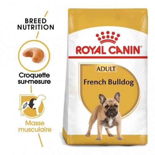 Alimentation pour chien - Royal Canin Bouledogue Français Adult pour chiens