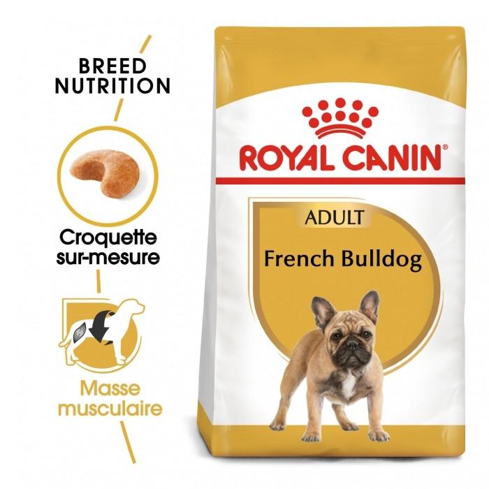 Alimentation pour chien - Royal Canin French Bulldog Adult - Croquettes pour chien pour chiens
