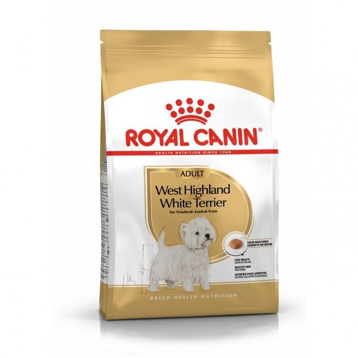 Alimentation pour chien - Royal Canin Westie Adult pour chiens
