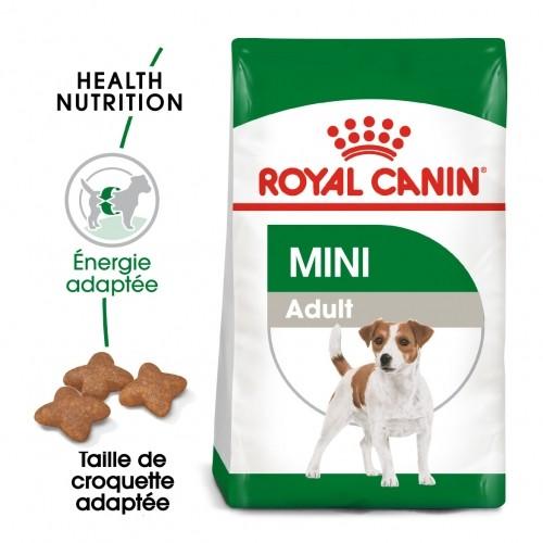 Alimentation pour chien - Royal Canin Mini Adult - Croquettes pour chien pour chiens