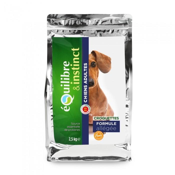 Alimentation pour chien - EQUILIBRE & INSTINCT Adult - Formule allégée pour chiens