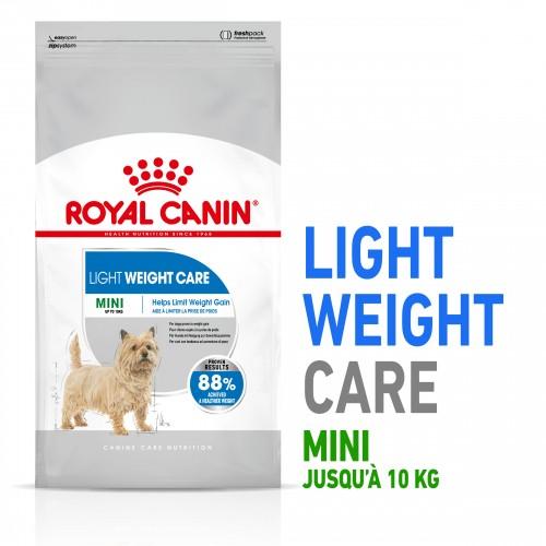 Alimentation pour chien - Royal Canin Mini Light Weight Care - Croquettes pour chien pour chiens