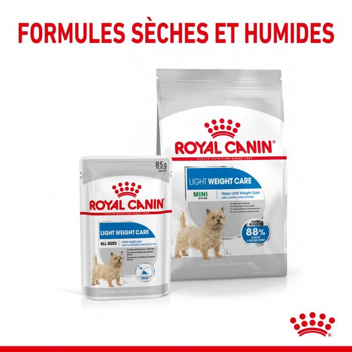Alimentation pour chien - Royal Canin Mini Light Weight Care pour chiens