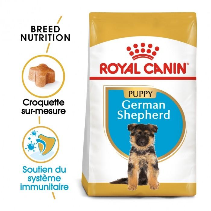 Alimentation pour chien - Royal Canin Berger Allemand Puppy (German Shepherd) pour chiens