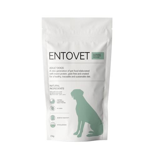 Alimentation pour chien - Entovet Croquettes aux protéines d'insectes - Adulte pour chiens