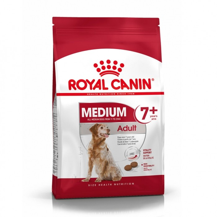 royal canin size nutrition croquettes pour chien medium adult 7 wanimo. Black Bedroom Furniture Sets. Home Design Ideas
