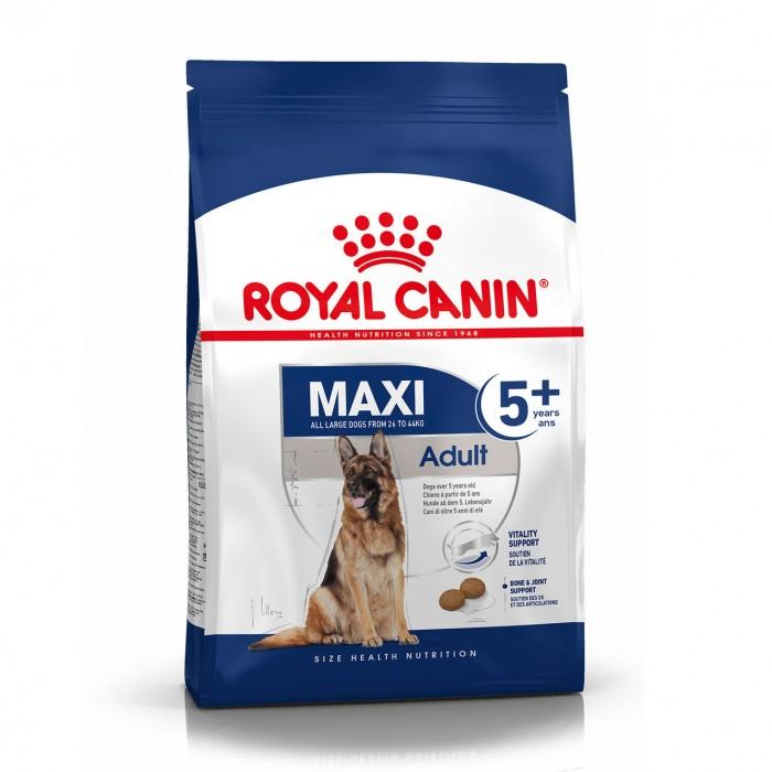 Alimentation pour chien - Royal Canin Maxi Adult 5+ - Croquettes pour chien pour chiens