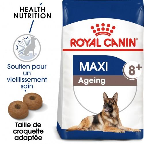 Alimentation pour chien - Royal Canin Maxi Ageing 8+ pour chiens