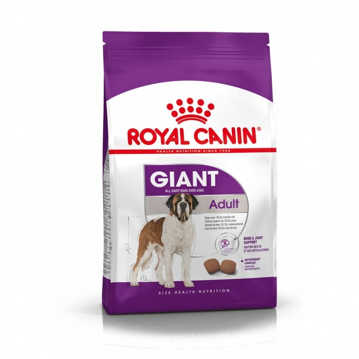 Alimentation pour chien - Royal Canin Giant Adult pour chiens