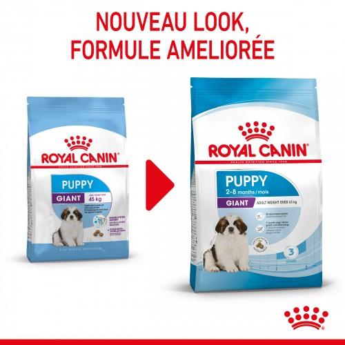 Alimentation pour chien - Royal Canin Giant Puppy pour chiens