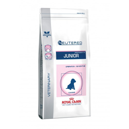 Alimentation pour chien - Royal Canin Vet Care Neutered Junior Dog pour chiens