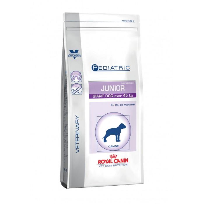 Alimentation pour chien - Royal Canin Vet Care Junior Giant Dog pour chiens