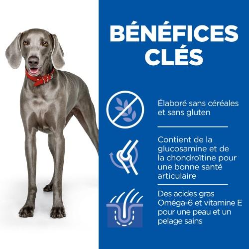 Alimentation pour chien - Hill's Science Plan No Grain Large Adult pour chiens