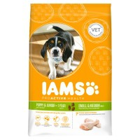 Croquettes pour chien - IAMS Puppy petites & moyennes races