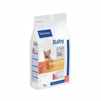 Croquettes pour chiot - VIRBAC VETERINARY HPM Physiologique Baby Small & Toy Baby Small & Toy