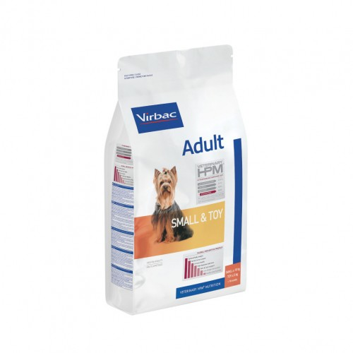 Alimentation pour chien - VIRBAC VETERINARY HPM Physiologique Adult Small & Toy pour chiens