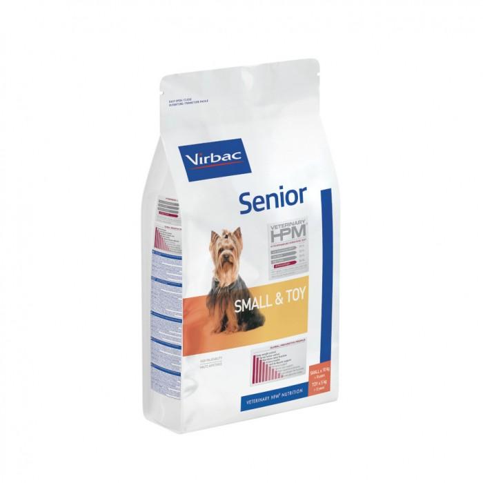 Alimentation pour chien - VIRBAC VETERINARY HPM Physiologique Senior Small & Toy pour chiens