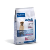 Croquettes pour chien - VIRBAC VETERINARY HPM Physiologique Adult Sensitive Digest Neutered Dog Medium & Large Adult Sensitive Digest Neutered Dog Medium & Large