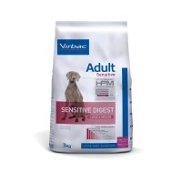Croquettes pour chien - VIRBAC VETERINARY HPM Physiologique Adult Sensitive Digest Medium & Large