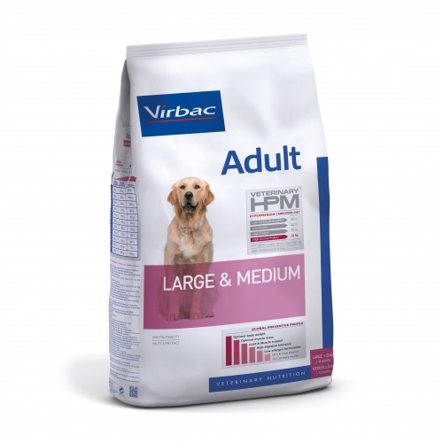Alimentation pour chien - VIRBAC VETERINARY HPM Physiologique Adult Medium & Large pour chiens